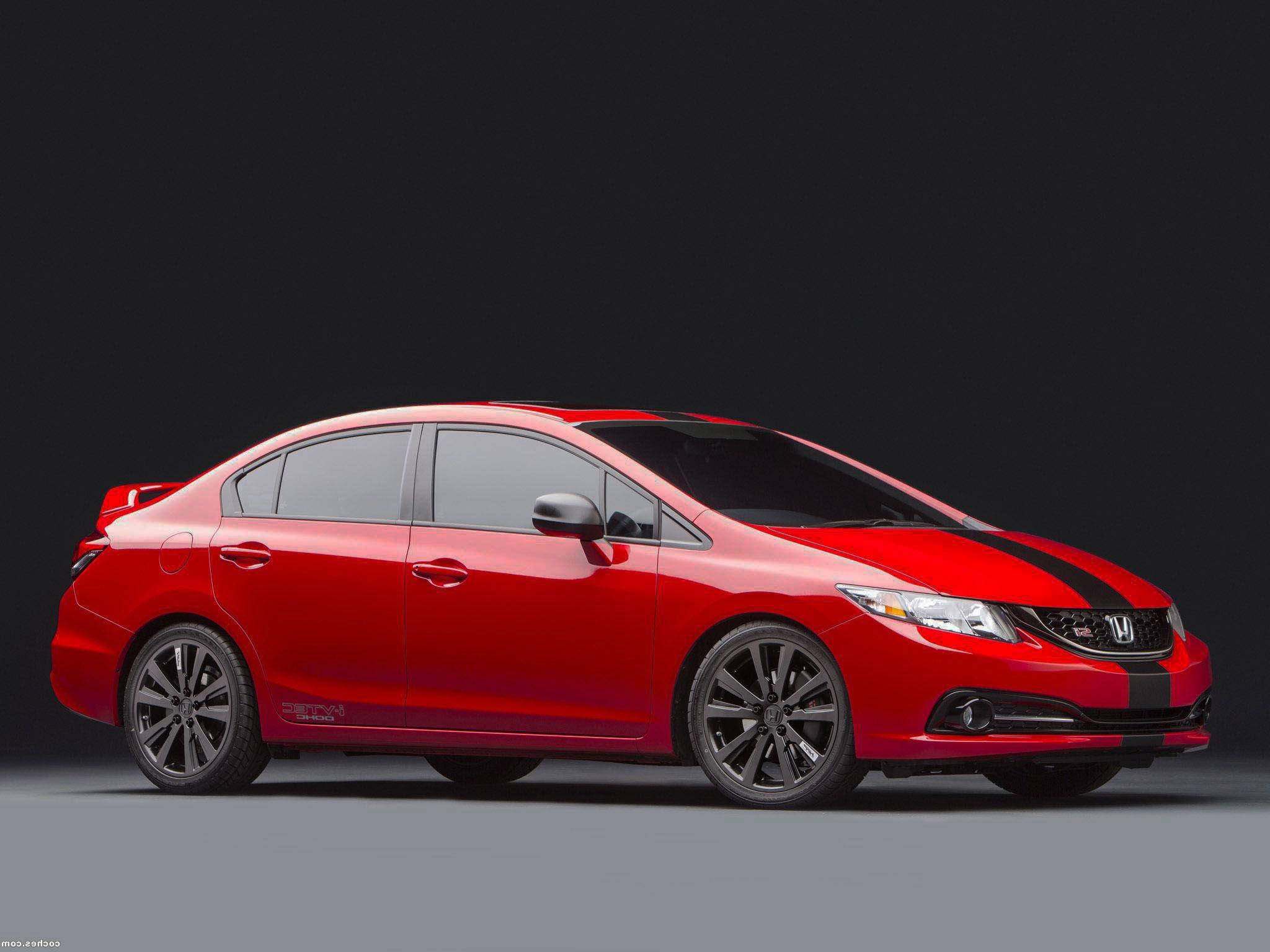 2015 honda civic si sedan concept sleek and sporty new automaker