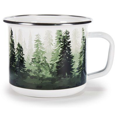 Millwood Pines Worden Forest Coffee Mug  Interessant