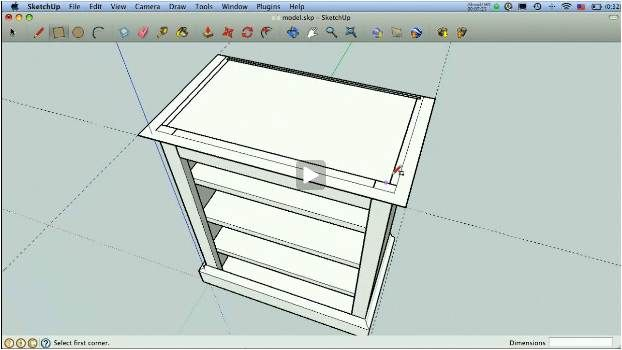 Tutorials For Using Sketchup To Make 3d Drawings And Plans For
