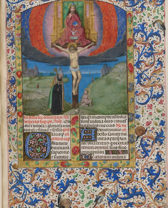 The Breviary of Isabella of Castile has a high wow factor. Add MS 18851 f. 241r