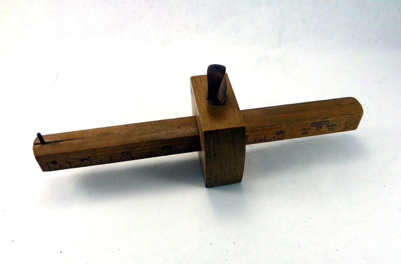 Vintage Stanley Marking Gauge No 62 Antique Wood