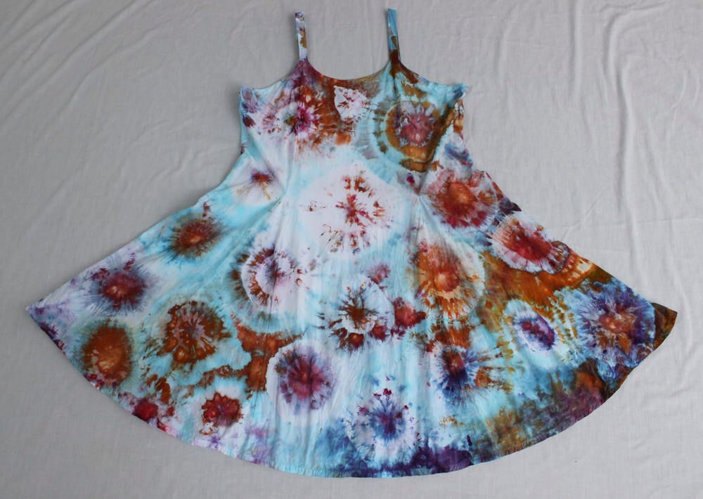 A personal favorite from my Etsy shop https://www.etsy.com/listing/510039872/ice-dyed-sun-dress-ice-dye-boho-indie Find more items like this https://aspoonfulofcolors.etsy.com