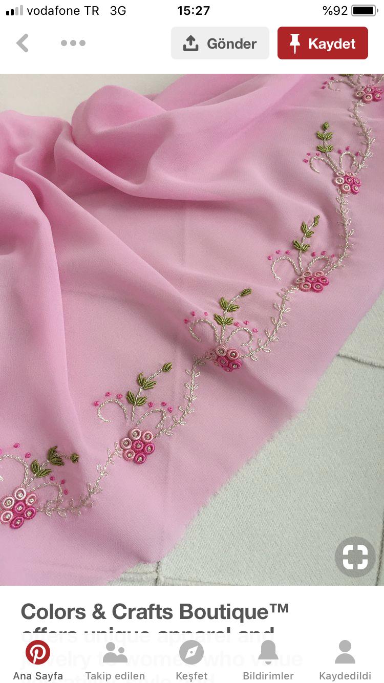 Pin de naii em Embroidery Bordados a mão, Toalha de