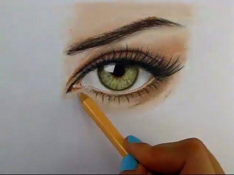 Tutorial Como Dibujar Ojos Con Lapices De Colores Youtube Dibujos De Ojos Como Dibujar Ojos Lapices De Colores Dibujos