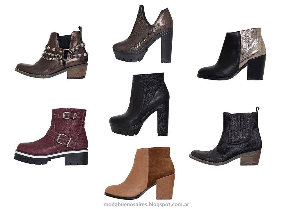Zapatos y Botas otoño invierno 2015.