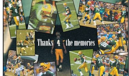 Brett Favre joins NFL Network's team for Super Bowl~~~Great collage - We love Brett Favre~~~
