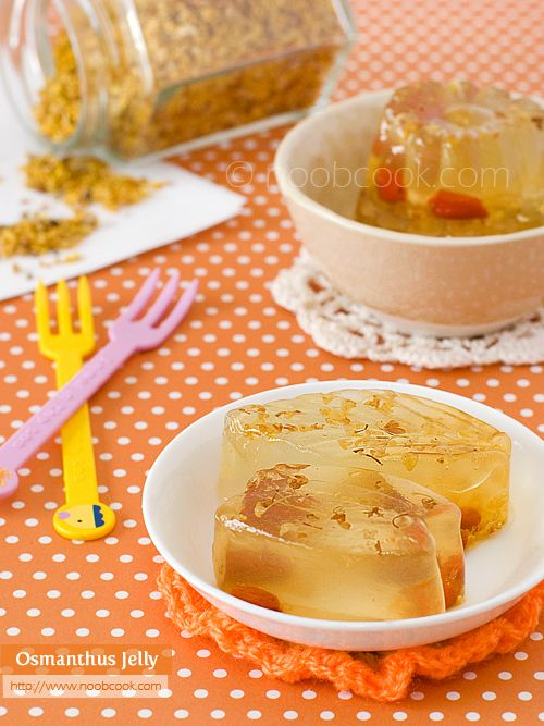 Osmanthus jelly traditionally an empresss dessert easy to make osmanthus jelly traditionally an empress dessert easy to make and healthy which is great for the chinese new year and pleasing the elderly forumfinder Choice Image