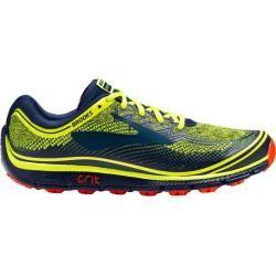 Photo of Brooks men's trail running shoes PureGrit 6, size 42 in Nightlife / Navy / Orange, size 42 in Nightlif