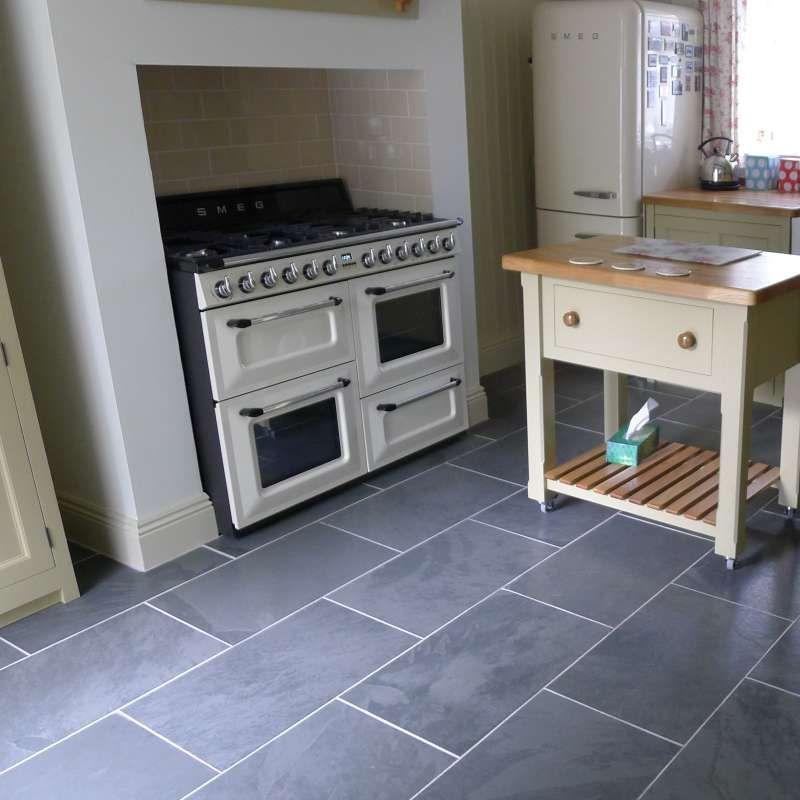 Mrs Stone Store Brazilian Black Natural Riven Slate Floor Tile