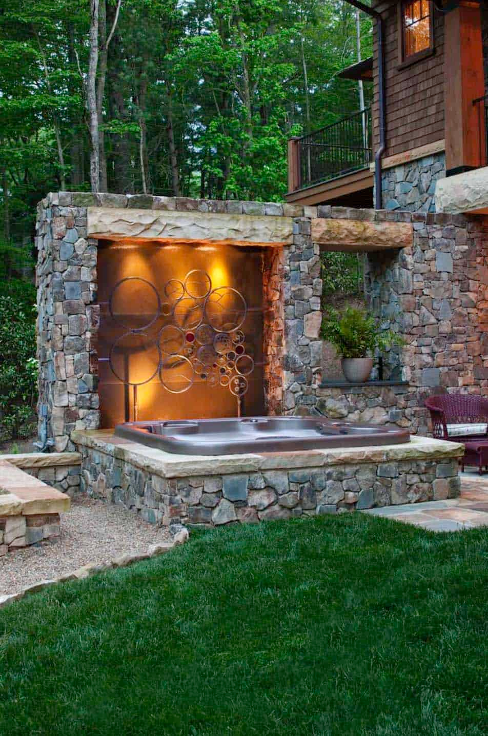 40+ Outstanding Hot Tub Ideas To Create A Backyard Oasis ...