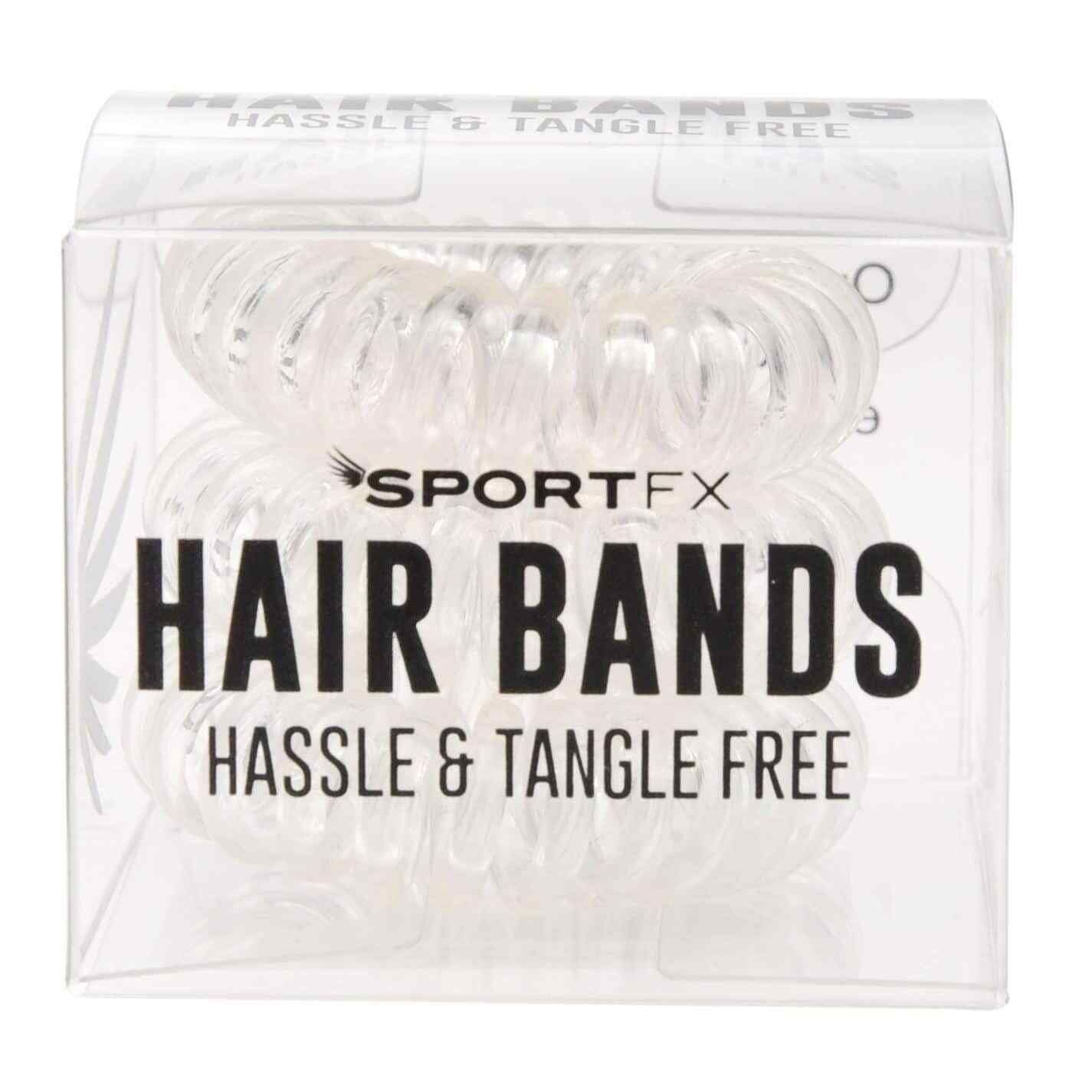 Sportfx Womens 3 Pack Tangle Free Clear Spiral Hair Bands Hair Tangles Ideas Of Hair Tangles Hair Tangles Hai In 2020 Hair Band Spiral Hair Bands Hair Detangler