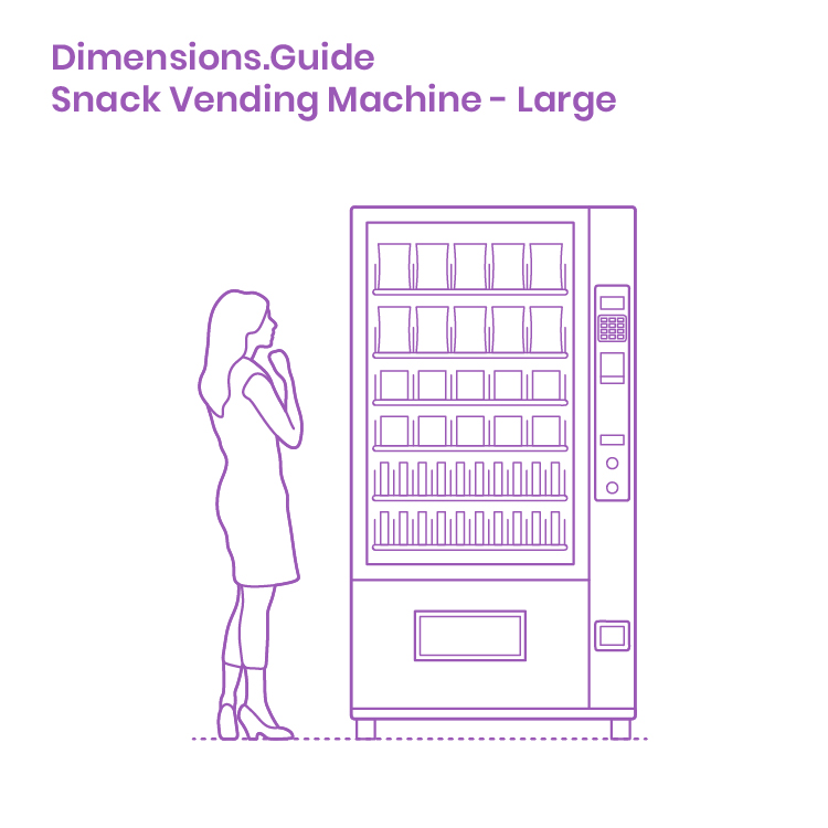 Large Snack Vending Machines Are Machines Designed With Large Merchandising Windows That Are I In 2020 Vending Machine Design Vending Machine Snacks Machine Design
