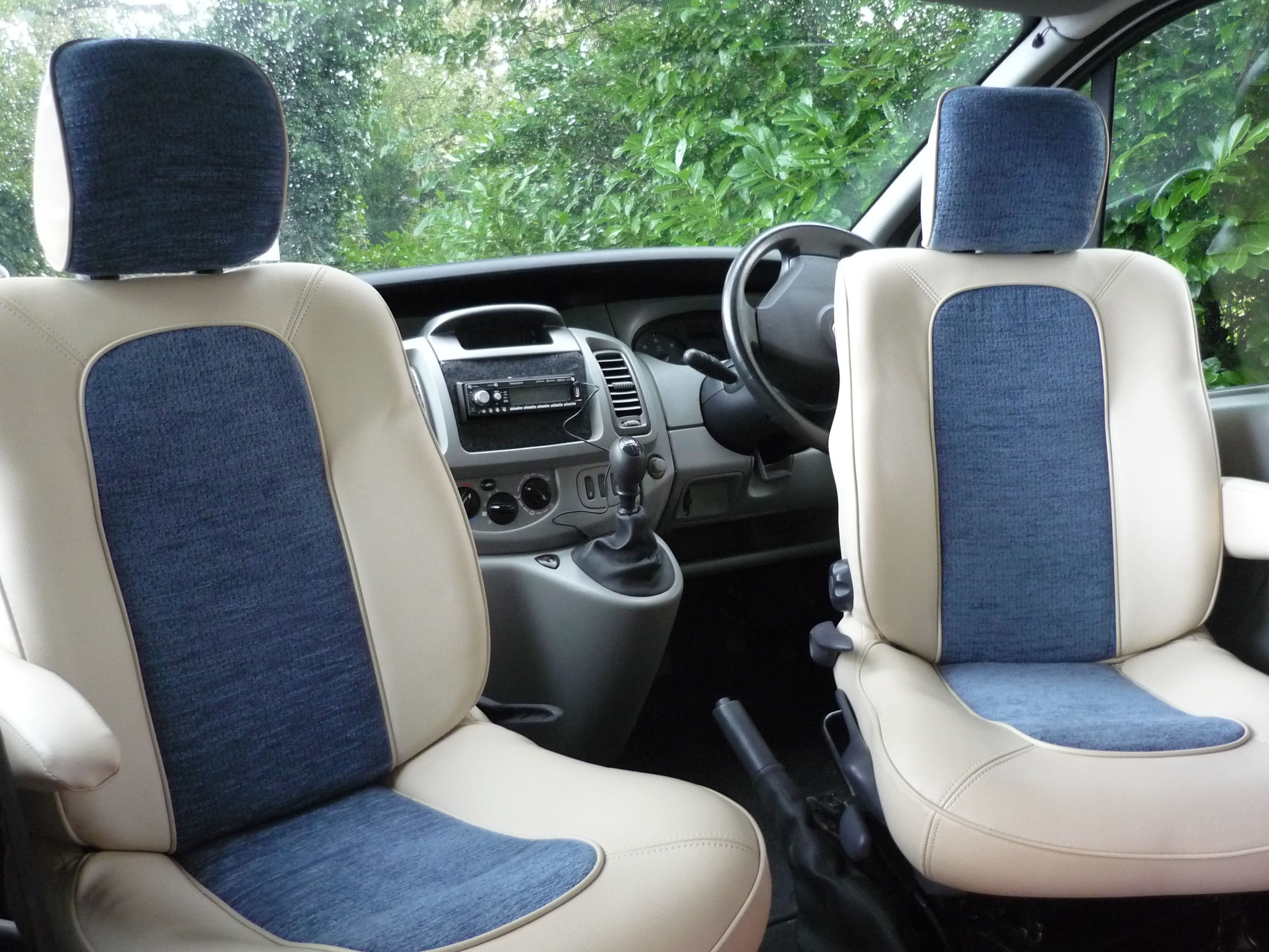 SWB Vehicles Have Twin Swivel Front Seats To Create A Nice Living Space