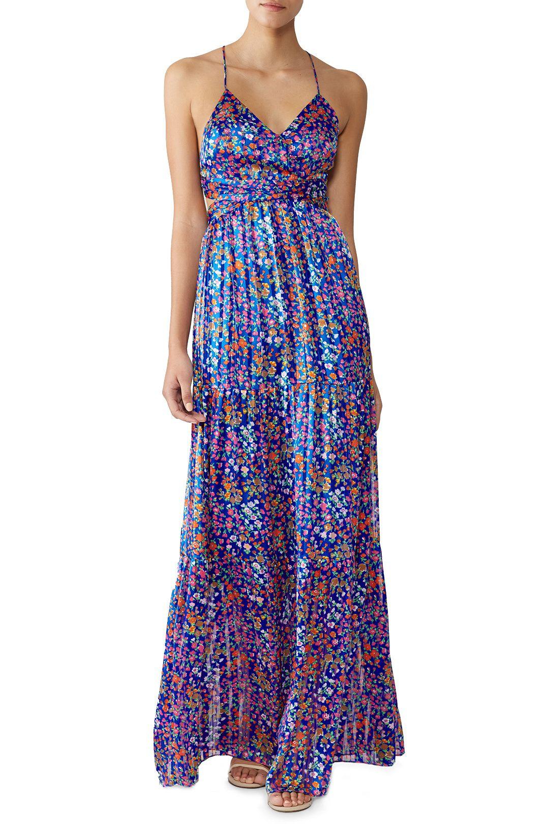 Ba Sh Rosy Maxi Maxi Dress Style Maxi Dress Floral Print Maxi Dress [ 1620 x 1080 Pixel ]