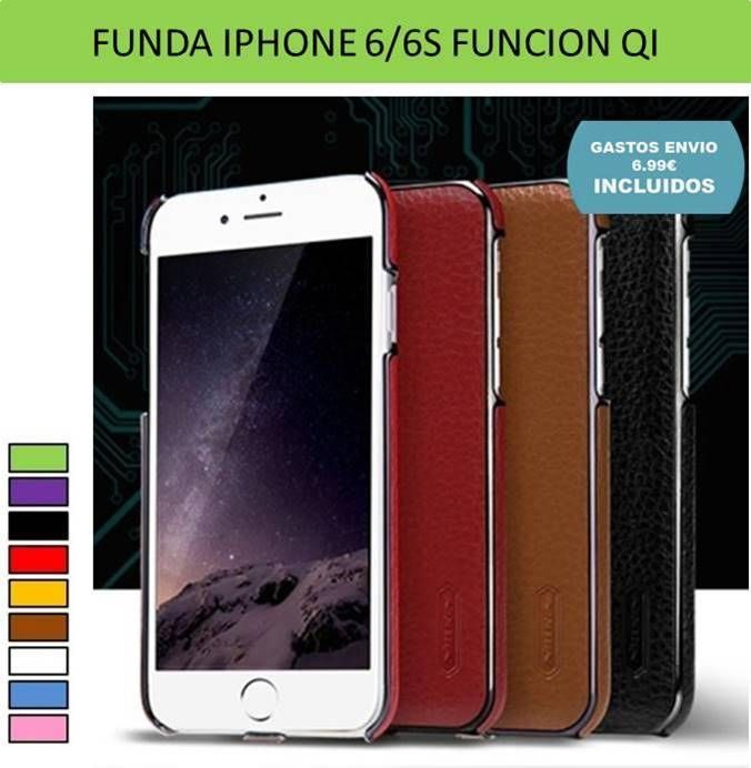 carcasa qi iphone 6