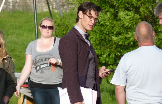 Doctor Who episode 11 Doctor Matt Smith with glasses