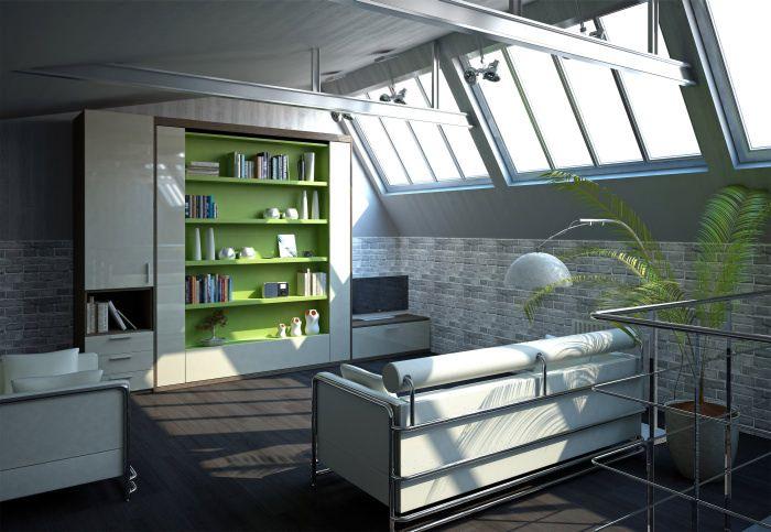 WB Metropolis Library 1   Milano   Smart Living