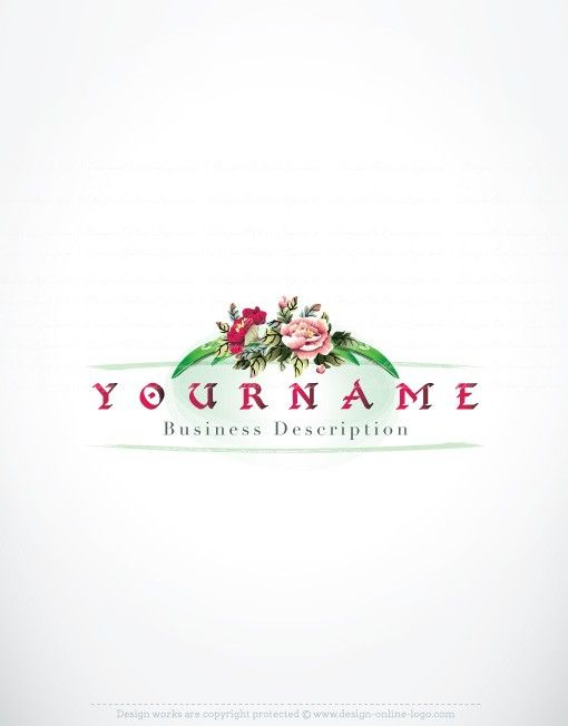 Exclusive Design: Bamboo flowers logo + Compatible FREE Business ...