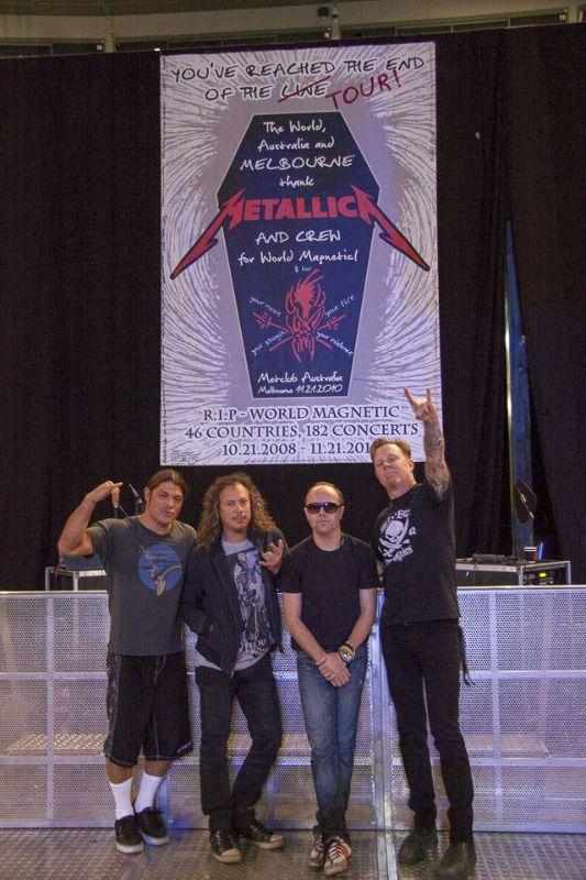 Melbourne - Nov 21, 2010 - Metallica