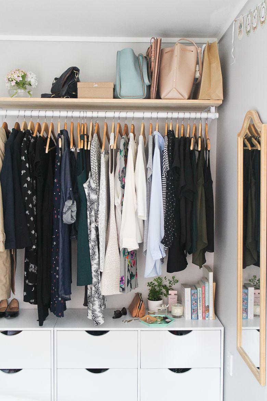 My Bedroom And Open Wardrobe Idee Dressing Idee Deco Dressing Rangement Petit Espace