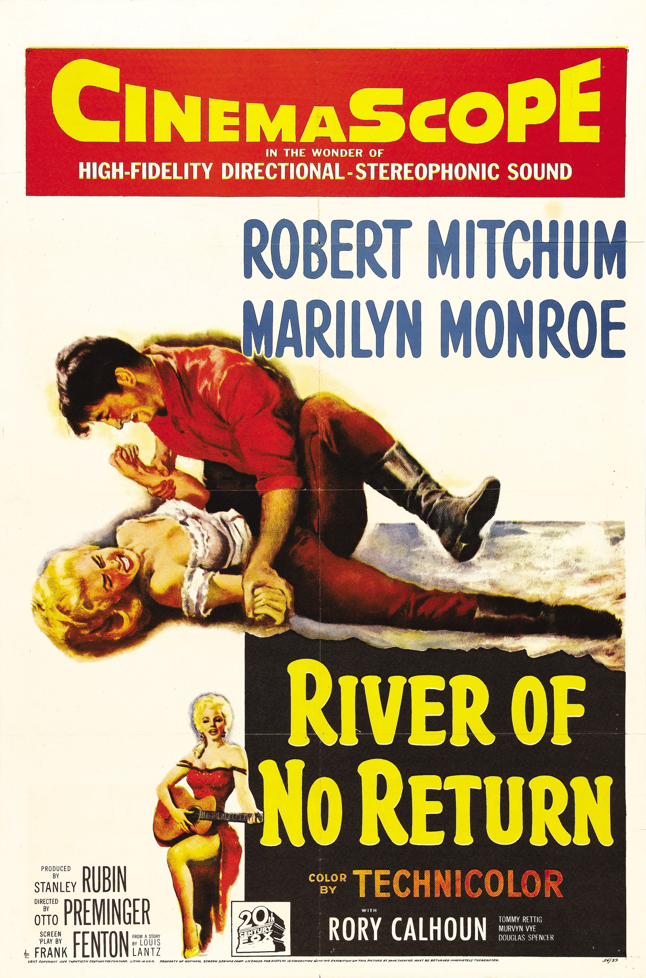 Poster - River of No Return (1954) | Carteles de cine