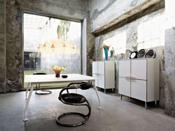 unique home office ideas. Fabulous Fascinating Unique Home Office Design Idea With Old Wall Paint Ideas H