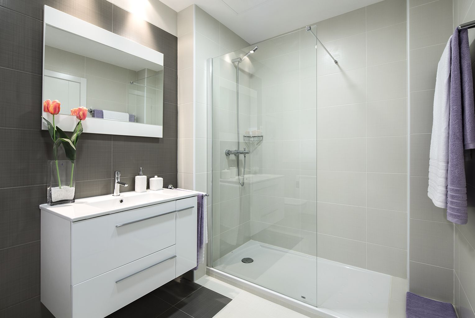 Cuarto de baño | Interior | Pinterest | Cuarto de baño, Baño con ...
