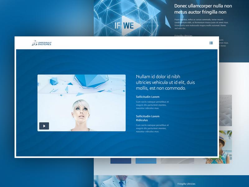 DS Landing Page Portal