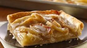 Apple Slab pie using Pillsbury refrigerated pie crust