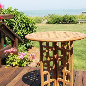 Cape Codder Table   High Quality Teak From Harlow U0026 MacGregor
