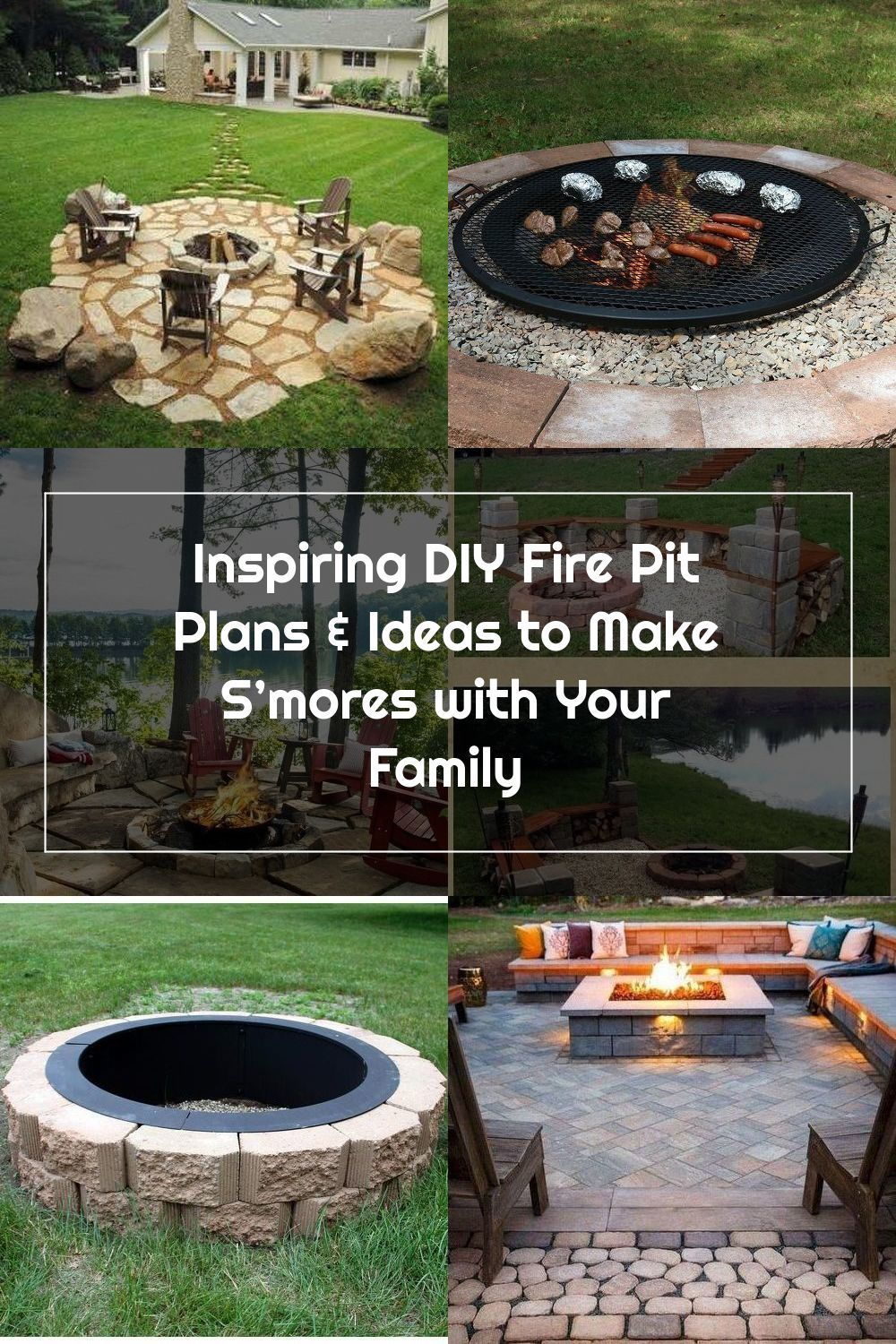 Finest Backyard Fire Pit Patio To Refresh Your Home In 2020