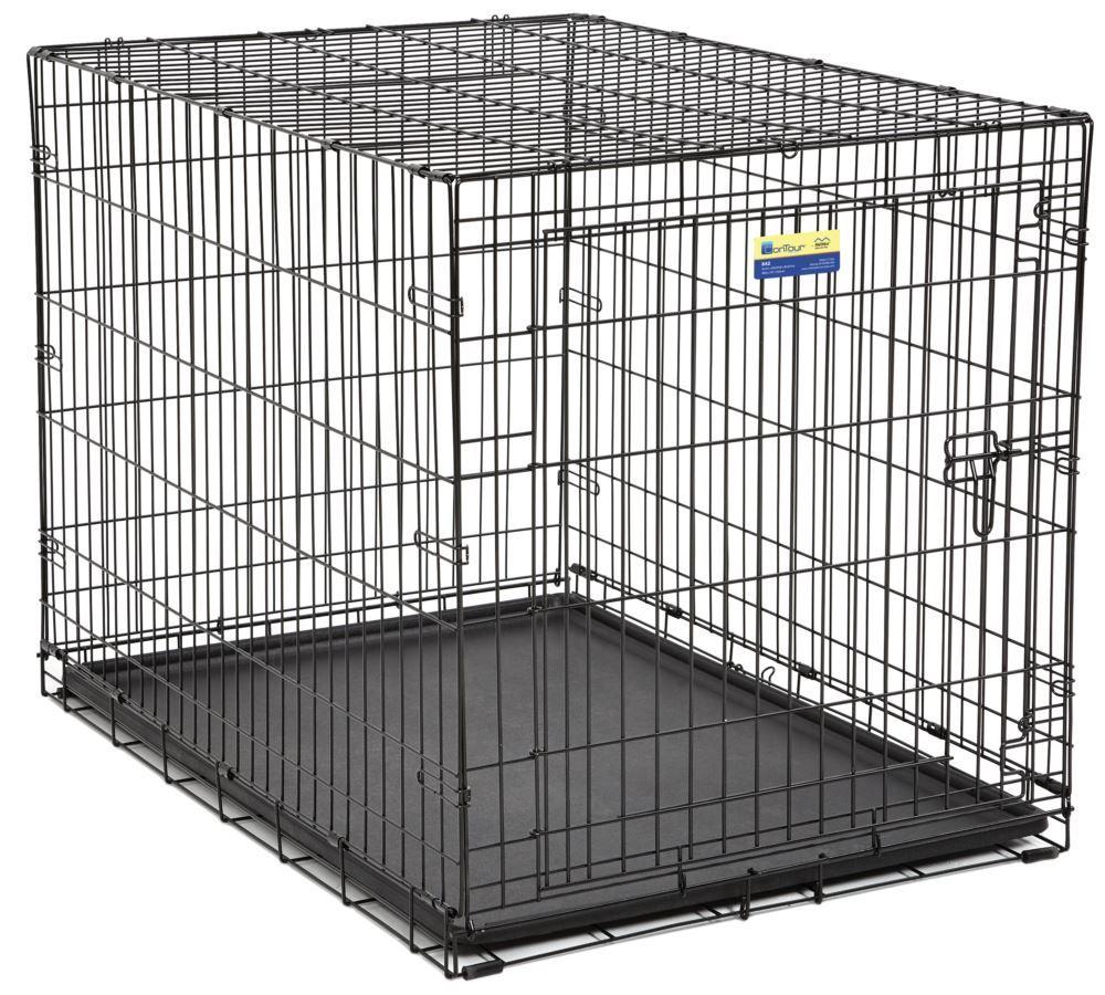 42 Contour Dog Crate 28 W X 30 H X 42 L Sku 06672530 Dog Crate Folding Dog Crate Crates