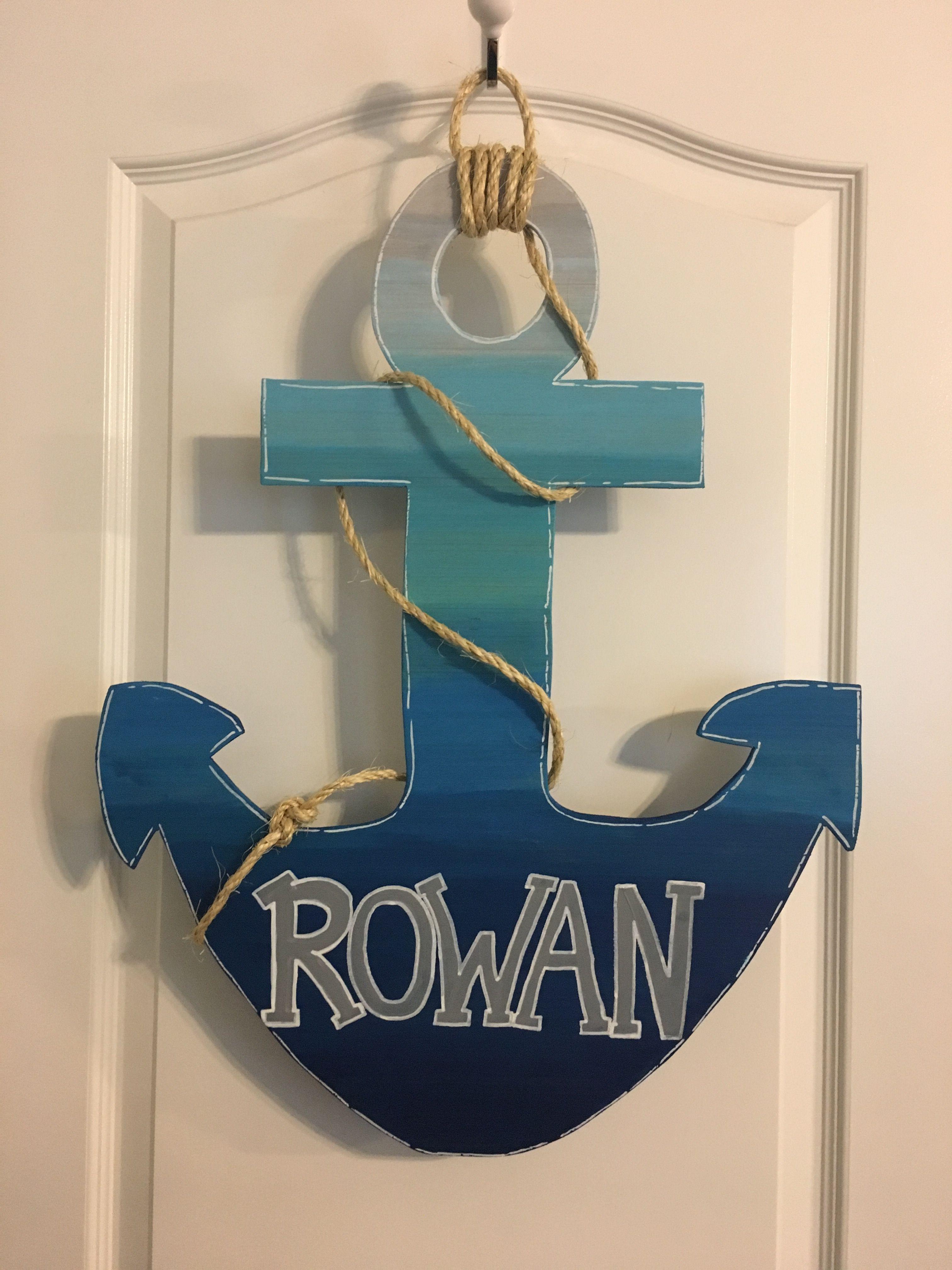 Anchor Baby Door Hanger