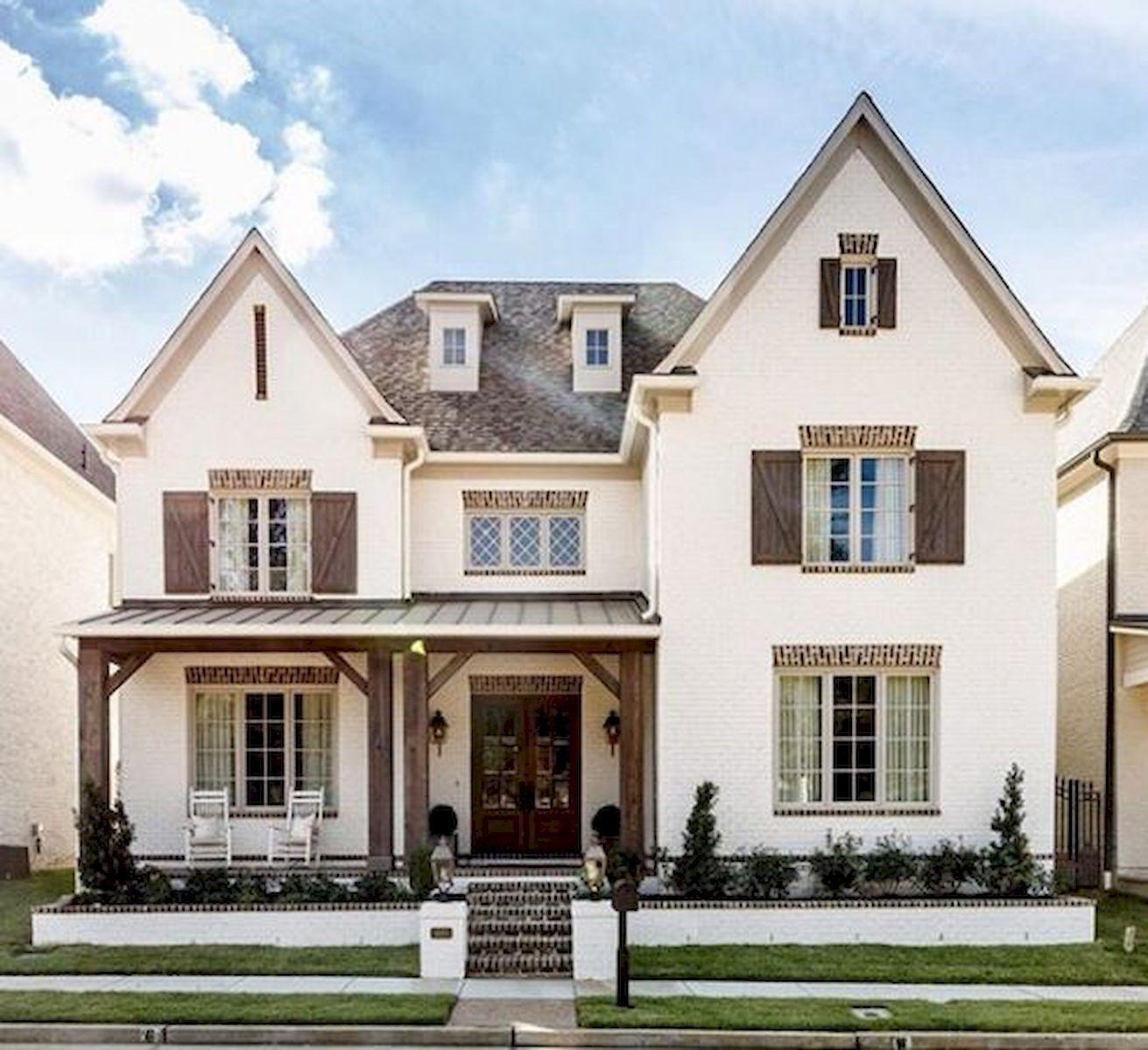 50 Modern Trends Farmhouse Exterior Paint Colors Ideas: 33 Beautiful Modern Farmhouse Exterior Design Ideas (14