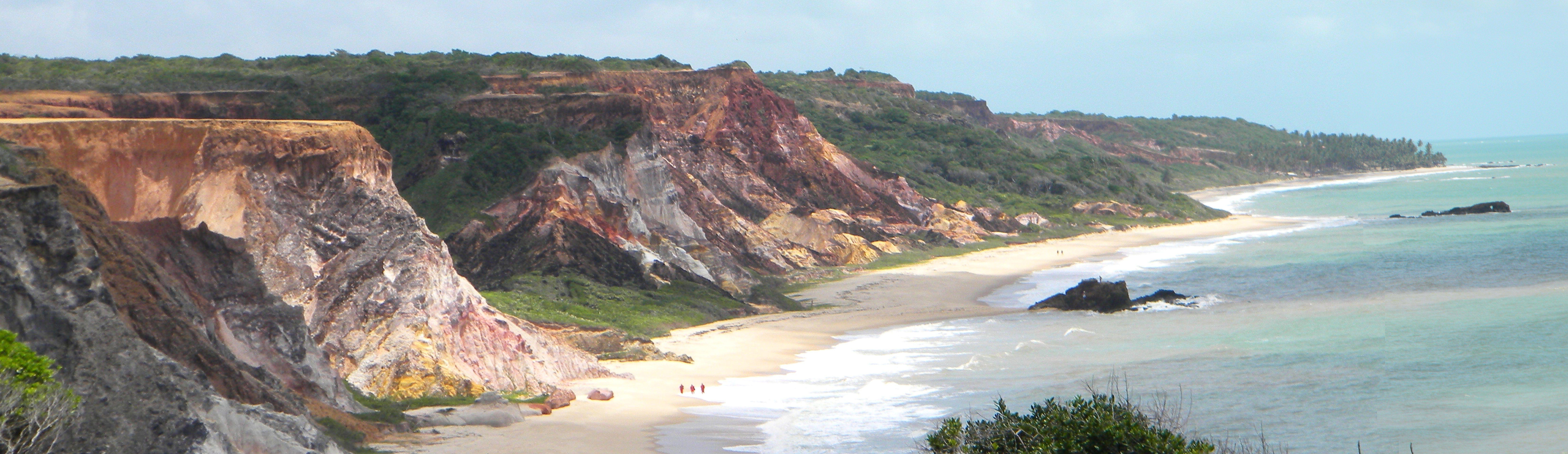 Tambaba Beach, Conde PB Brazil Stock Image - Image of