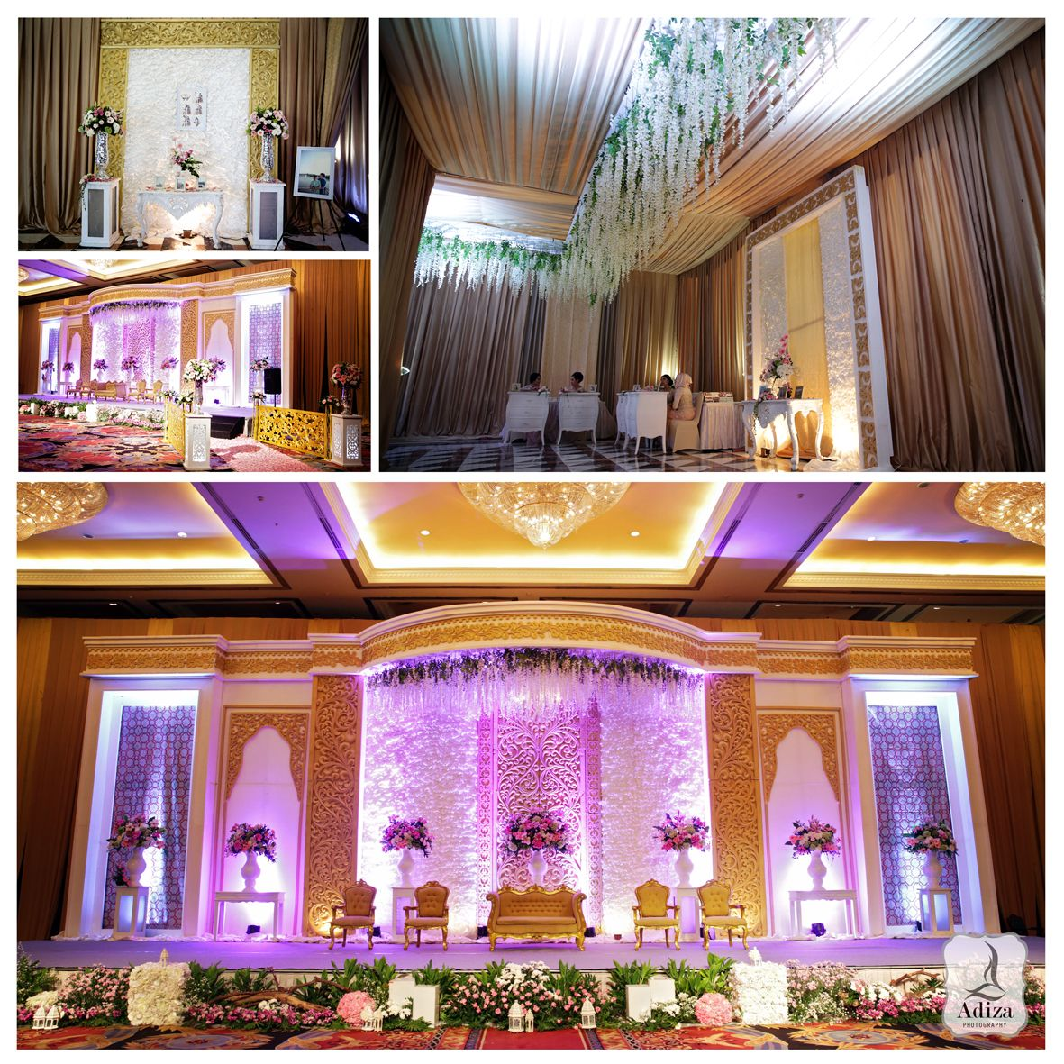 decorgarda dekorasi venue : birawa assembly hall, bidakara
