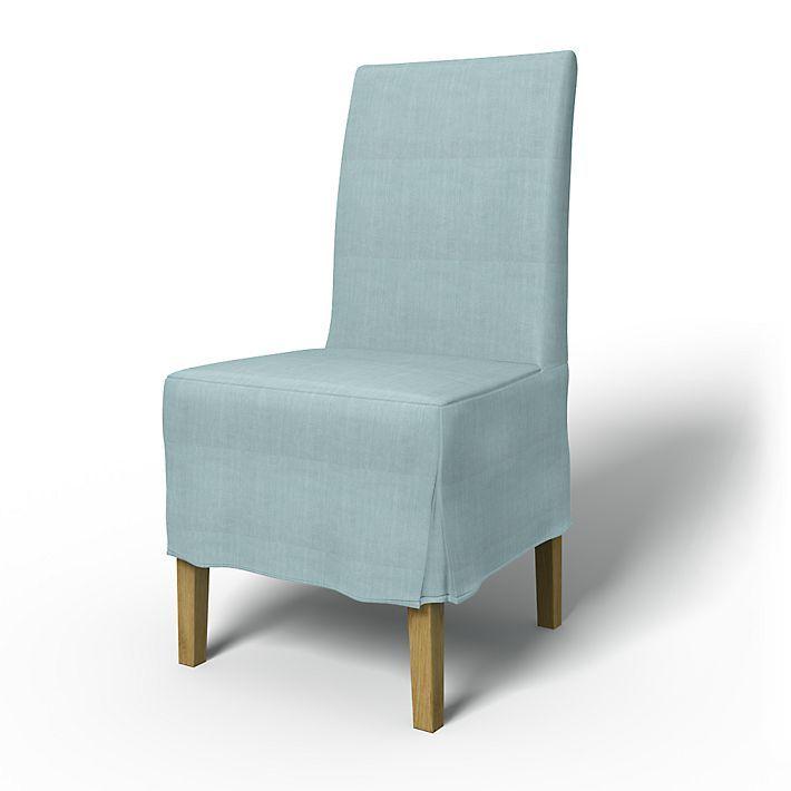 Henriksdal Chair Covers Chairs Regular Fit Medium Skirt Box