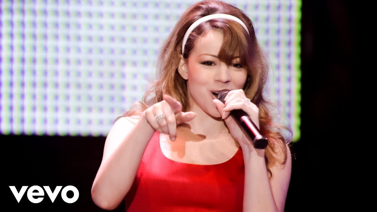Mariah Carey All I Want For Christmas Is You Live At The Tokyo Dome Youtube Mariah Carey Mariah Carey Songs Tokyo Dome