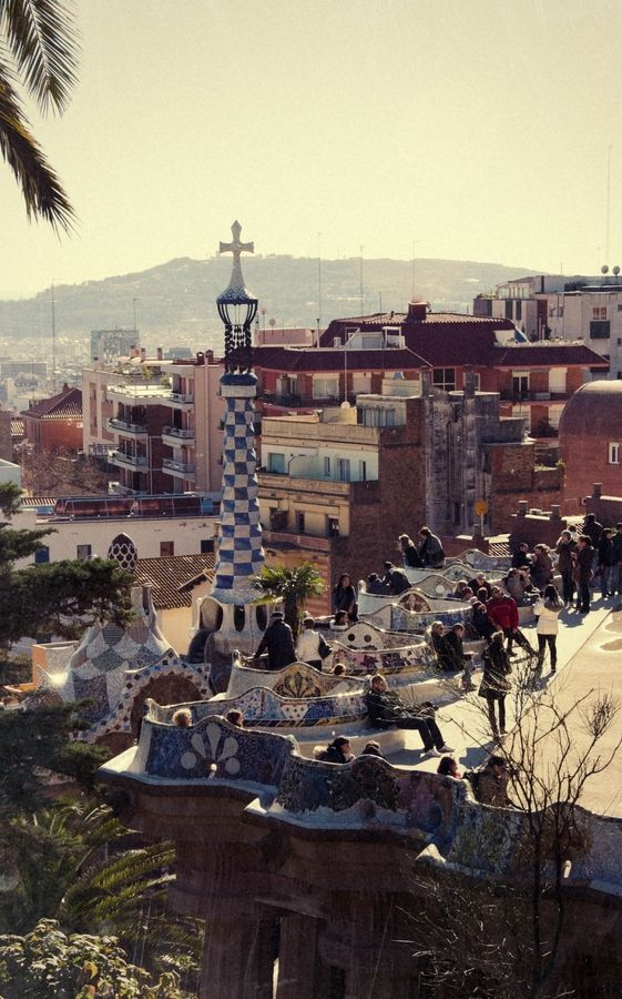 Parc Guell, Barcelona - I've been here, it's so beautiful