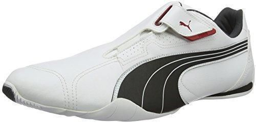 Oferta: 50.8€. Comprar Ofertas de Puma Redon Move - Zapatillas, unisex adulto, color blanco (white-black-ribbon red-puma silver-dark shadow 01), talla 45 EU (1 barato. ¡Mira las ofertas!