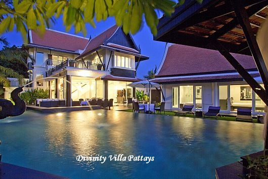 Elegant Divinity Villa In Pattaya. If You Enter The Property You Will Be Impressed  By The Traditional Thai Roof Over Her Head. A Thai Outer Roof Is Also  Available ...