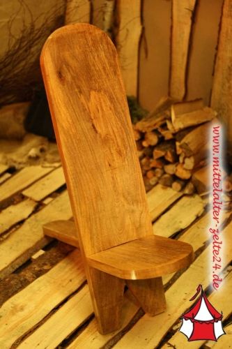 mittelalter steckstuhl hartholz mittelalter party pinterest mittelalter holz und holzarbeiten. Black Bedroom Furniture Sets. Home Design Ideas