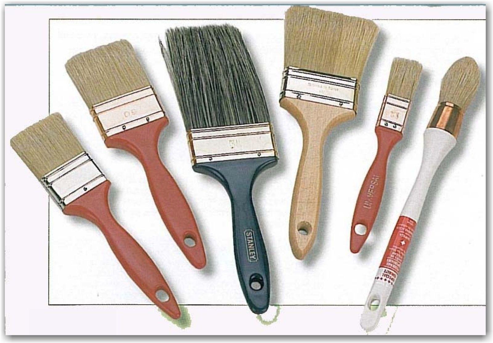 Herramientas De Pintura Tipos De Brochas Y Rodillos Tipo De Brochas Herramientas De Pintura Rodillos Para Pintar