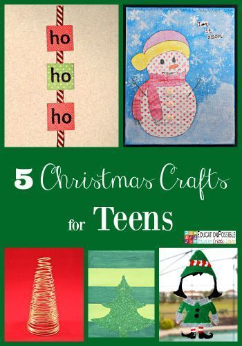 5 Easy Christmas Crafts For Teens To Make Christmas Time And New