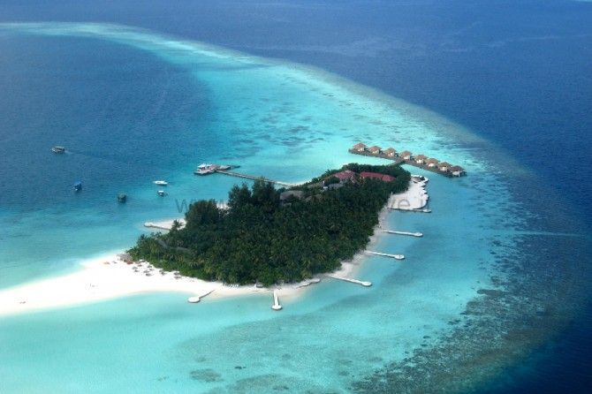 Maayafushi Resort - Overwater Bungalows, Villas, and Cruises | Over-The-Water.com #maldives