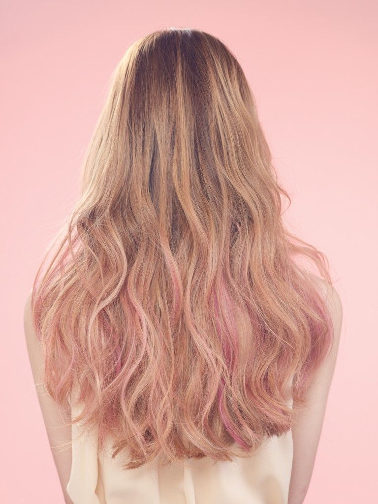 pink brown hair color google search hair color