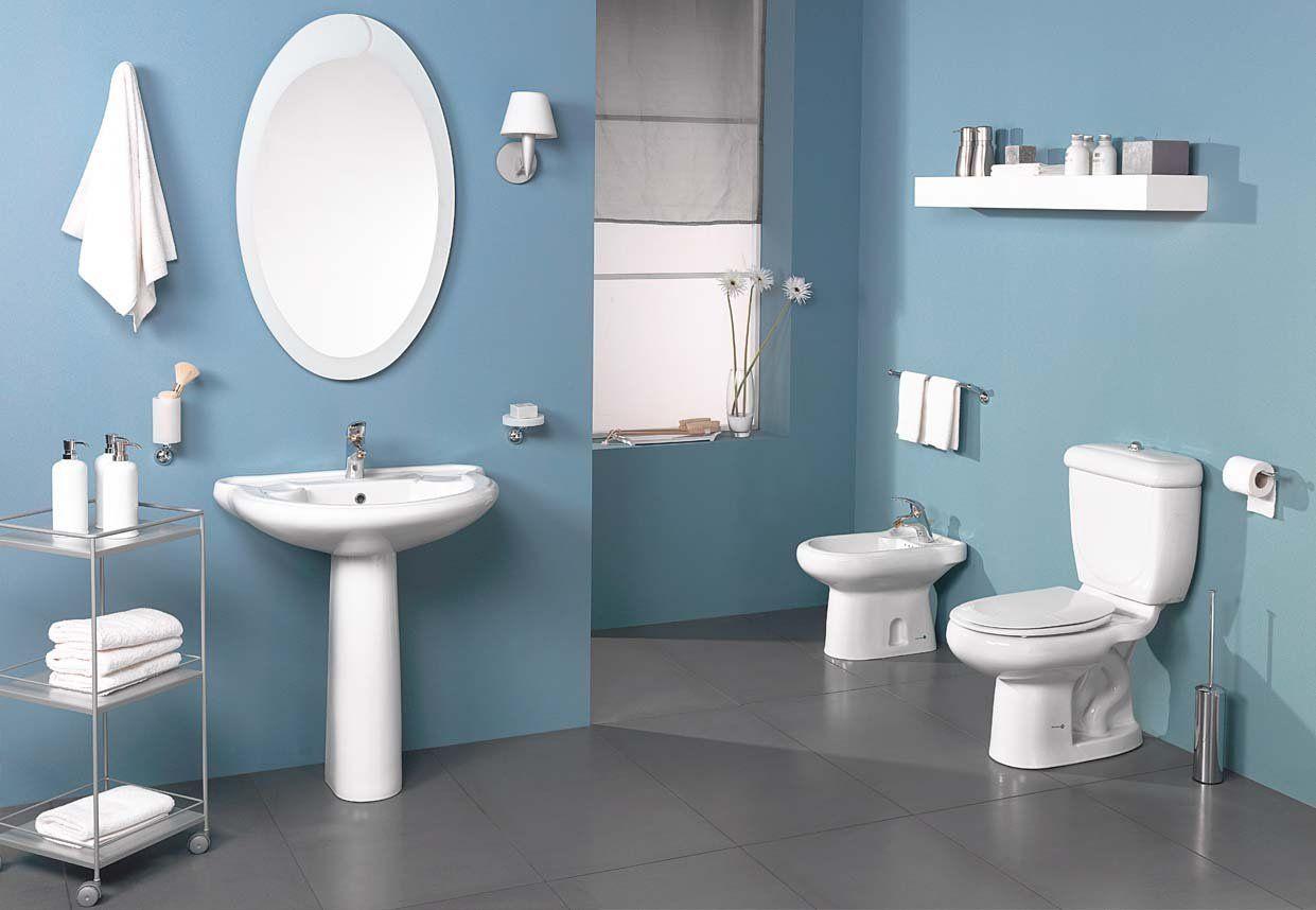 اطقم حمامات ايديال ستاندرد بكل لوازمها شركة عيسى للسيراميك والبورسلين Round Mirror Bathroom Bathroom Bathroom Mirror