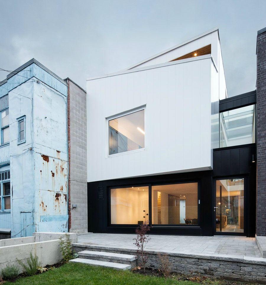 Une Maison Du Mile Ex Pas Comme Les Autres With Images Architecture Residential Architecture Architecture Exterior