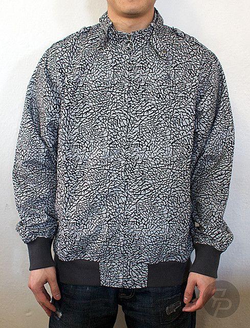 72d3f38cfa0 Jordan Elephant Print Members Only Jacket | #streetcouture ...