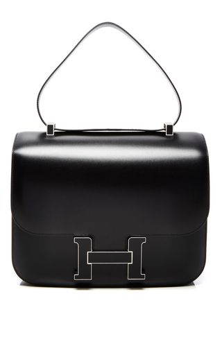 Hermes 29cm black calf box constance cartable by HERITAGE AUCTIONS SPECIAL…